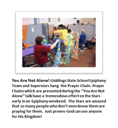 You Are Not Alone! Giddings State School
